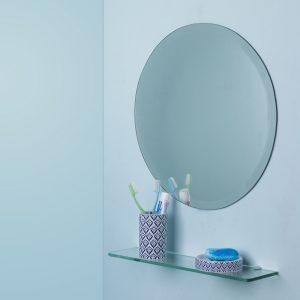 Wall mirror_Circular shape